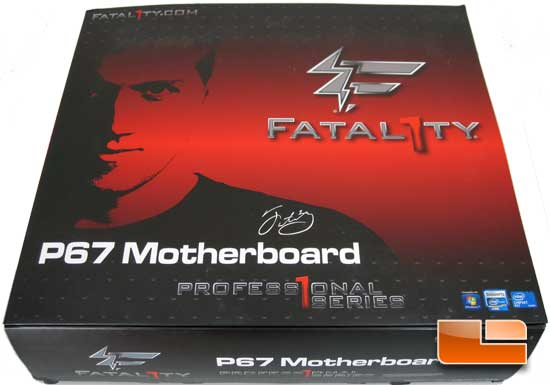 ASRock Fatal1ty Professional P67 motherboard Retail Packaging and bundle