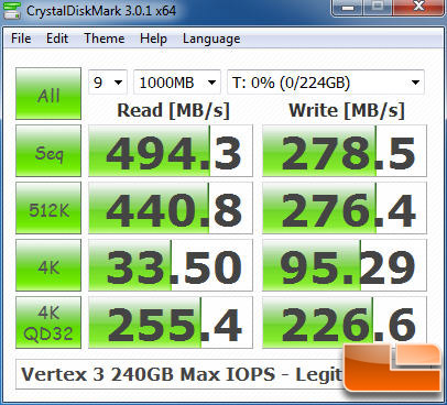 Vertex 3 MI 240GB CRYSTALDISKMARK P67