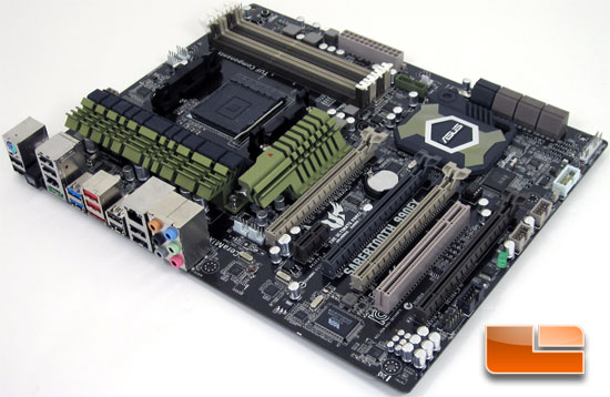 ASUS Sabertooth 990FX Motherboard Layout