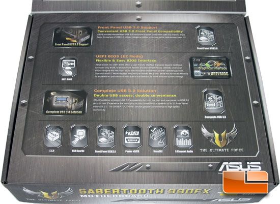 ASUS Sabertooth 990FX Motherboard Retail Packaging