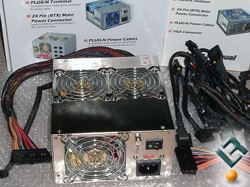 TTGI TT-600K04 (600W) Modular ATX/BTX PSU