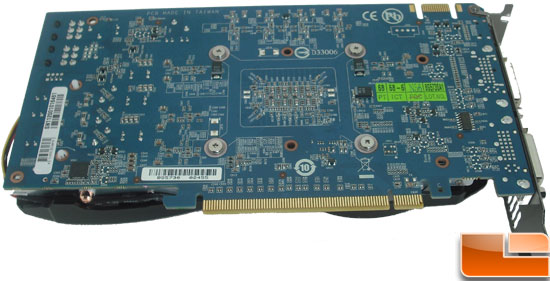 Gigabyte GeForce GTX 560 OC Video Card Back