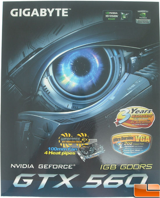 Gigabyte GeForce GTX 560 OC Video Card