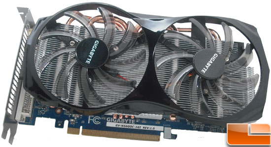 Gigabyte GeForce GTX 560 OC Video Card Fan