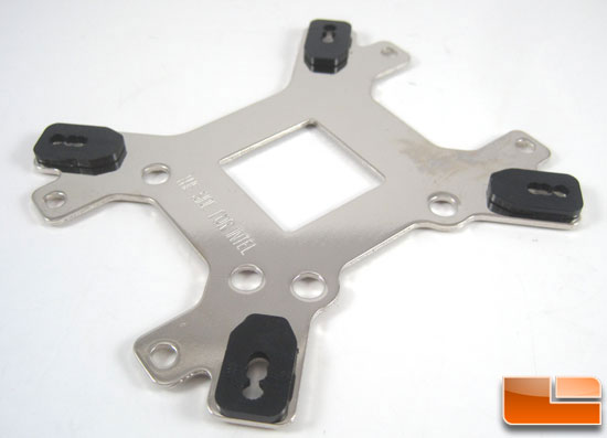 NZXT Havik 140 CPU Cooler backing plate