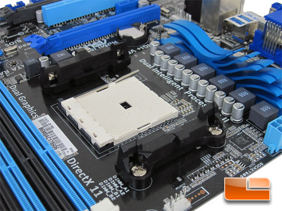 ASUS F1A75-M Pro Motherboard Layout