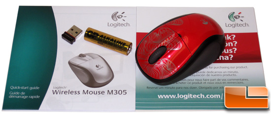 Logitech M305 Wireless Mouse
