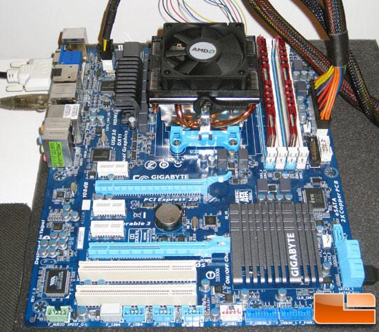 AMD Llano APU Test System