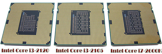Intel Core i3-2120 Pins