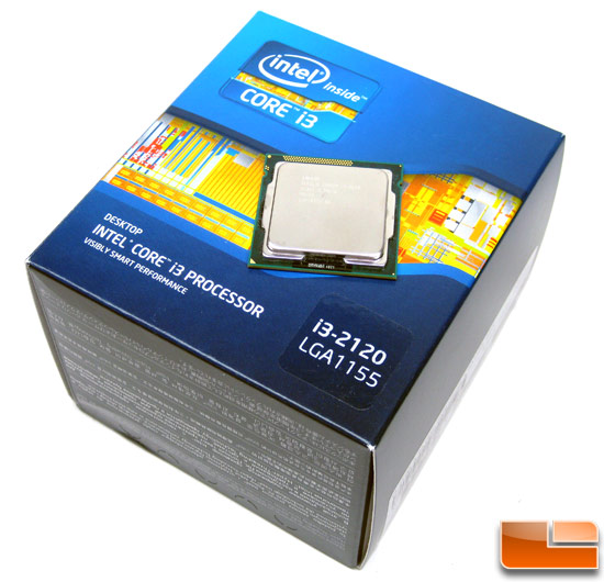 Intel Core i3-2120 CPU Retail Box