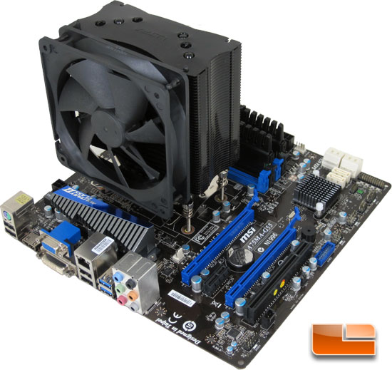 MSI A75MA-G55 AMD APU Motherboard Test Bench