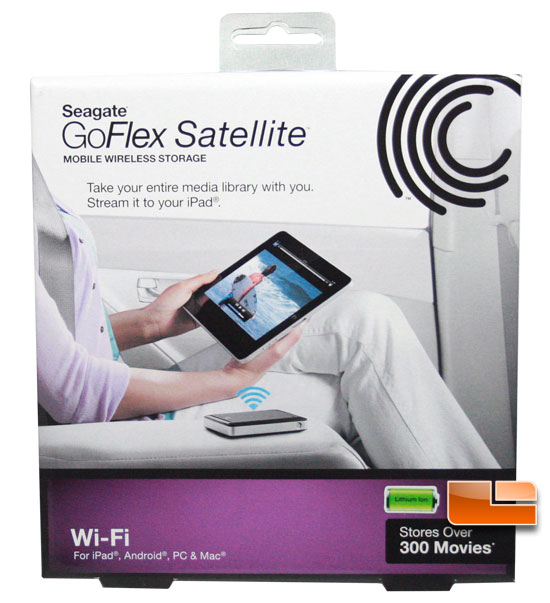 GoFlex satellite box front