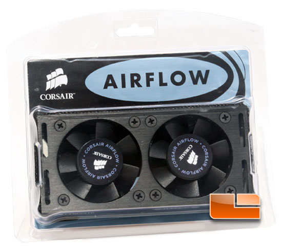 Corsair AirFlow Pro Display and AirFlow 2 Fan Review