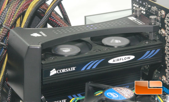 Airflow on test bench