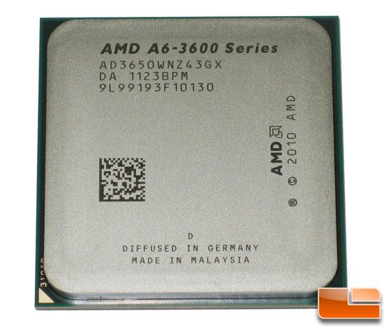 AMD A6-3650 Llano APU