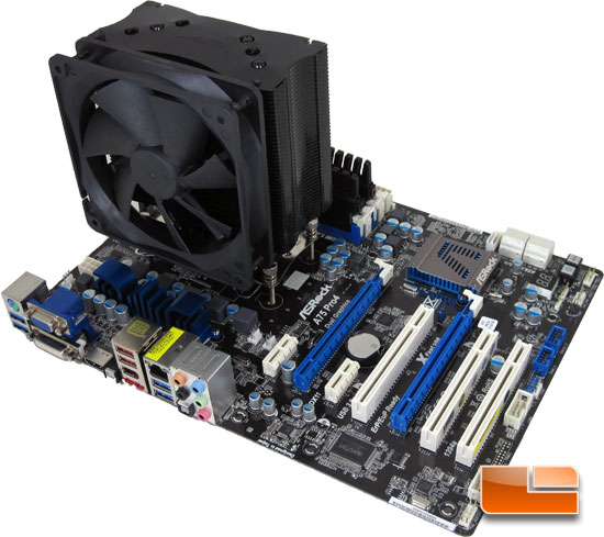 ASRock A75 Pro4 AMD APU Motherboard Test Bench