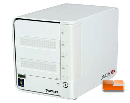 Patriot Javelin S4 Media Storage Server Review