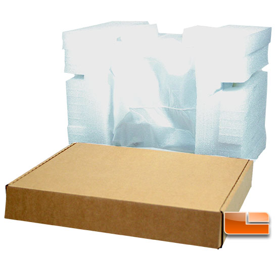 Javelin foam packing