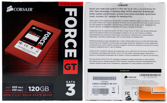 Corsair Force GT Box
