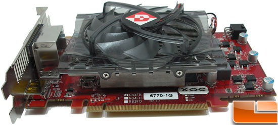Diamond Radeon HD 6770 XOC Video Card Bottom