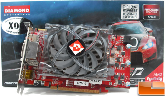 Diamond Radeon HD 6770 XOC Video Card