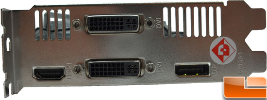 Diamond Radeon HD 6770 XOC Video Card Connectors