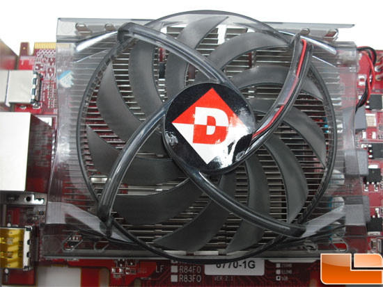Diamond Radeon HD 6770 XOC Video Card Fan