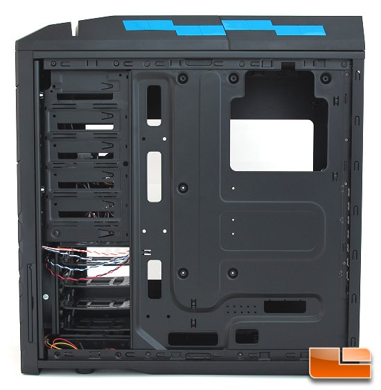 SilverStone Precision PS06 Back Layout