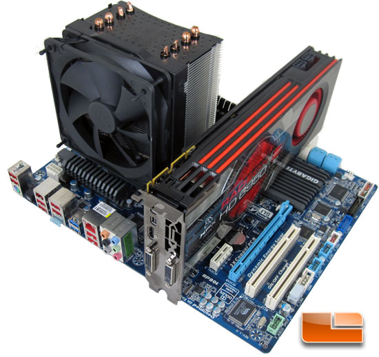 GIGABYTE Z68XP-UD3-iSSD Motherboard Test Bench