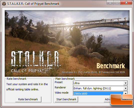 ASUS GTX 560 DirectCU II TOP STALKER Settings