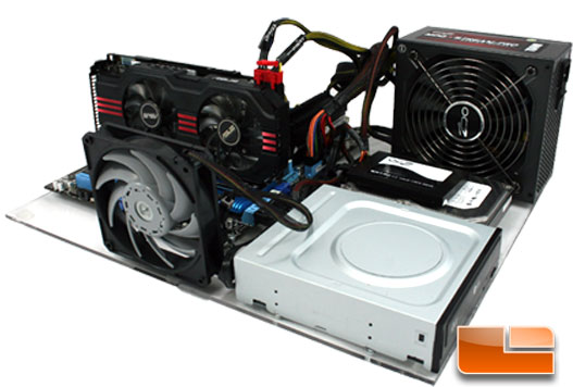 ASUS GTX 560 DirectCU II TOP test bench