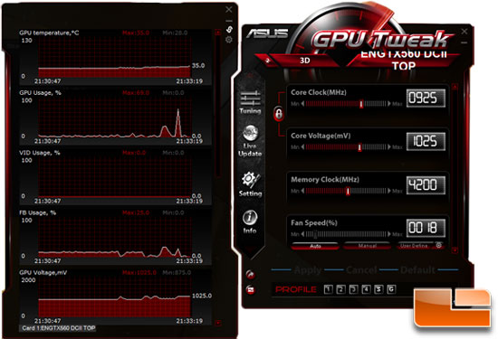 ASUS GTX 560 Top GPU Tweak