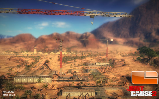 ASUS GTX 560 DirectCUASUS GTX 560 DirectCU II TOP Just Cause 2 Screenshot II TOP Just Cause 2 Benchmark