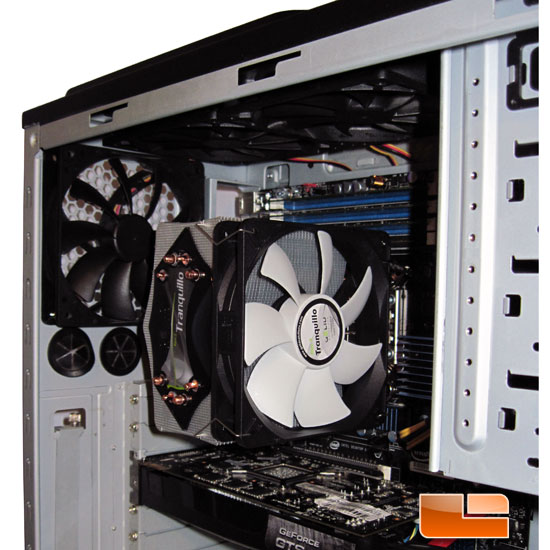 GELID Solutions Rev2 Tranquillo CPU Cooler intalled