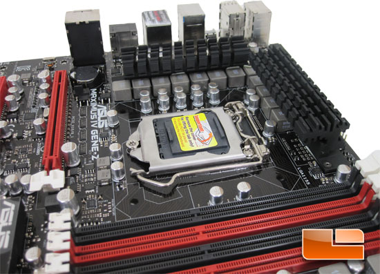 ASUS Maximus IV Gene-Z Intel Z68 Micro ATX Motherboard Layout