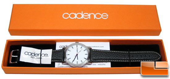 Cadence 4-Bit Binary Leather Watch Review