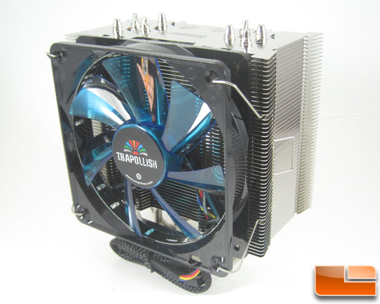 Enermax ETS-T40 H.D.T. Tower CPU Cooler Review