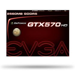 EVGA GeForce GTX 570 HD 2560MB