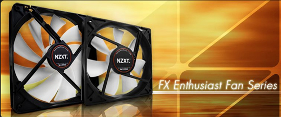 NZXT FX Enthusiast Fan Series