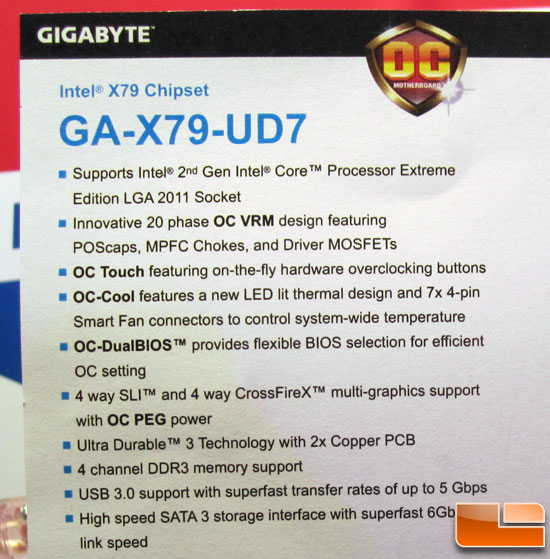 GIGABYTE GA-X79-UD7 Motherboard Preview