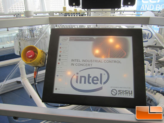 Intel Industrial Control in Concert Demo at IDF 2011