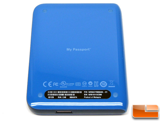 WD My Passport Essential Plastic Housing