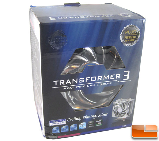 Evercool Transformer 3 CPU Cooler box