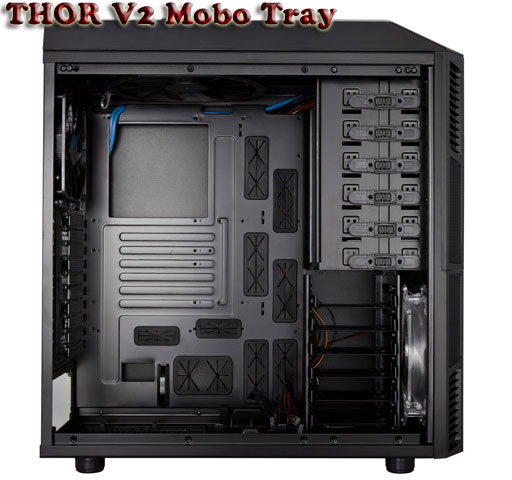Rosewill Thor XL-ATX Gaming Case Interior