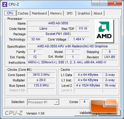 ASUS F1A75-V Pro Overclocking