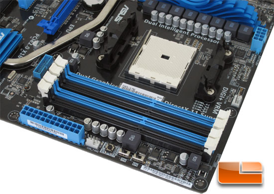ASUS F1A75-V Pro Socket FM1 Motherboard Layout