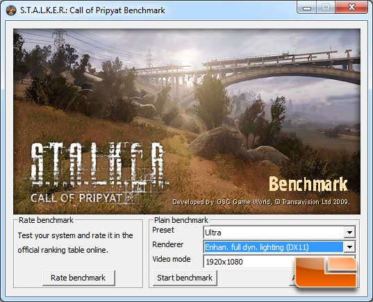 Stalker Call of Pripyat DX11 Performance Benchmark