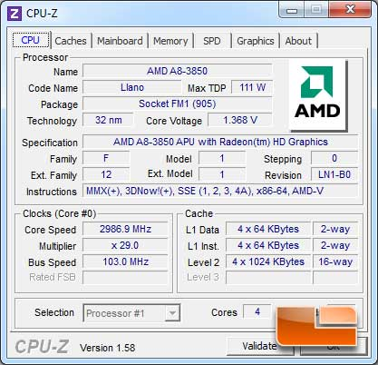 ASUS F1A75-V Pro Auto Tuning