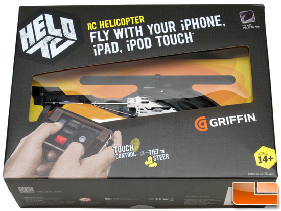 Griffin HELO TC iOS-Controlled RC Helicopter Review