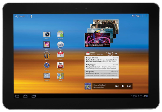 Samsung Galaxy Tab 10.1 w/ Verizon 4G LTE Tablet Review